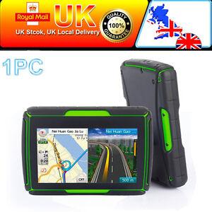 Motorcycle Bike SAT NAV GPS Navigation UK W. Europe Map 4.3