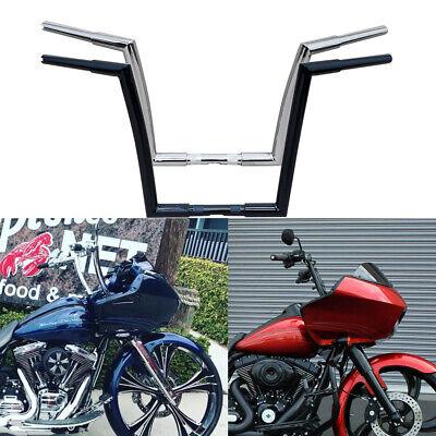 Glossy Black Chrome APE Hanger Bars Handlebars For Touring Road Glide 86-13