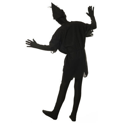 Kids Peter Pan Shadow Disney Halloween Costume](Peter Pan Teen Costume)