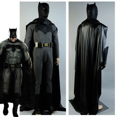 Batman v Superman Dawn of Justice Batman Costume Bruce Wayne Jumpsuit Cosplay