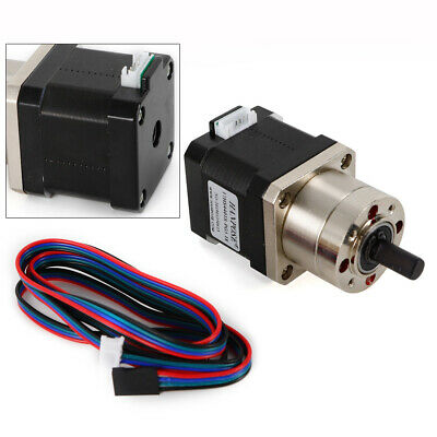 Precision Planetary Geared Stepper Motor Nema17 Ratio 15.18 Usa Stock