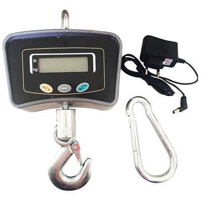 Digital Crane Scale 500kg1100lbs Electronic Industrial Heavy Duty Hanging Scale