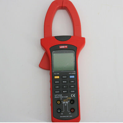 Uni-t Ut233 Three Phase Power Clamp Meter True Rms With Usb