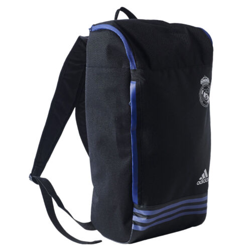 adidas Real Madrid Backpack Sports Football Fan Rucksack Not