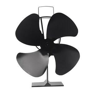 Ofen Stromloser Kamino Ventilator Stove Gebläse Eco Fan 4S für Holzofen Kamin