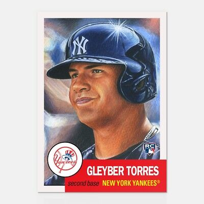 2018 Topps Living Set  34 Gleyber Torres   Preproduction