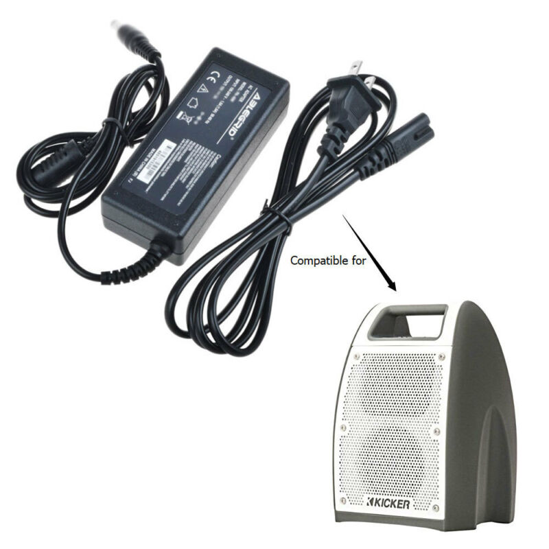 AC Adapter Charger For Kicker Bullfrog Jump Wireless Speaker BF400 Power Mains