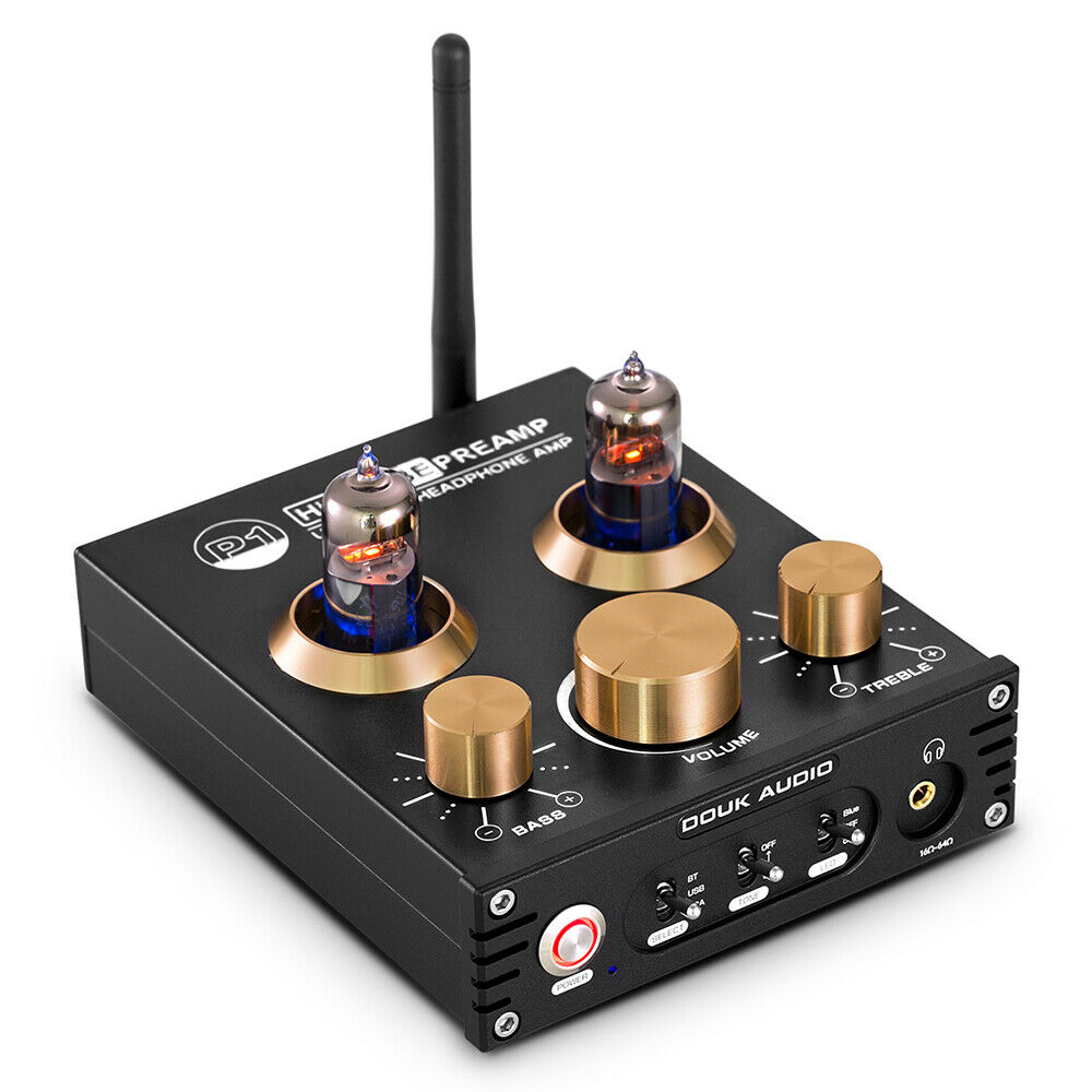 Details about HiFi Bluetooth Valve Tube Preamp Bass USB DAC Headphone Amp  Stereo Audio APTX-LL