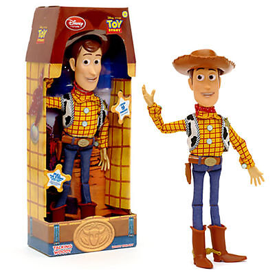 WOODY Toy Story 3 Pull String Action 15 Inch Pull String Talking Figure