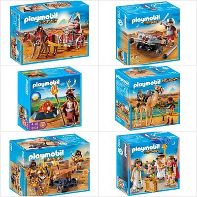 PLAYMOBIL HISTORY SERIES ASSORTMENT