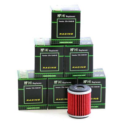 6 X HIFLO OIL FILTERS HF141 <em>YAMAHA</em> SCOOTER YP125 RA X MAX ABS 11 14