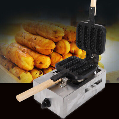 4pcs Commercial NonStick lolly Waffle Maker Hot Dog Stick Baker Machine 1300W US for sale  USA