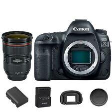Canon EOS 5D Mark IV DSLR Camera + EF 24-70mm f/2.8L II USM Lens