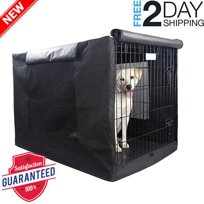 Extra Large Dog Crate Cover Kennel XL Pet Wire Cage Huge Folding Giant Breed 42