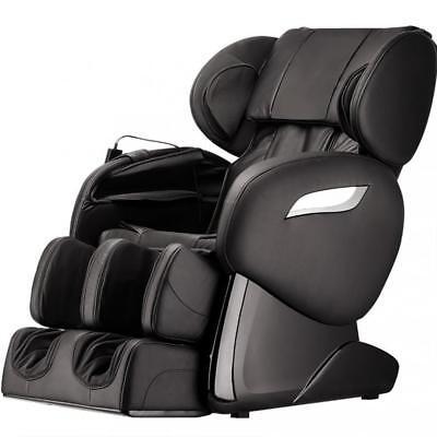 Foot Massage Chair - NEW Electric Full Body Shiatsu Massage Chair Foot Roller Zero Gravity w/Heat 83