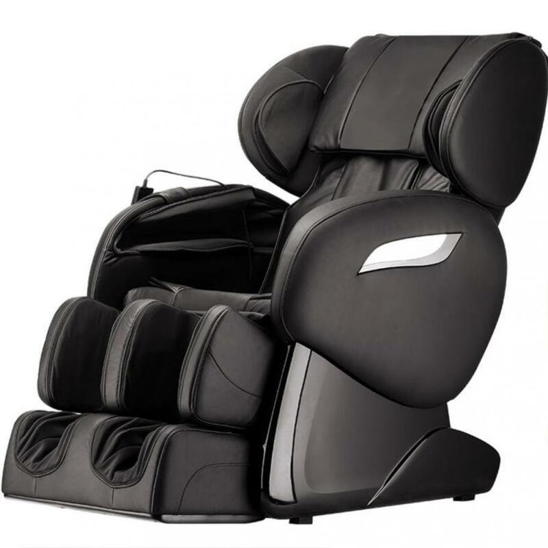 NEW Electric Full Body Shiatsu Massage Chair Foot Roller Zero Gravity w/Heat 83