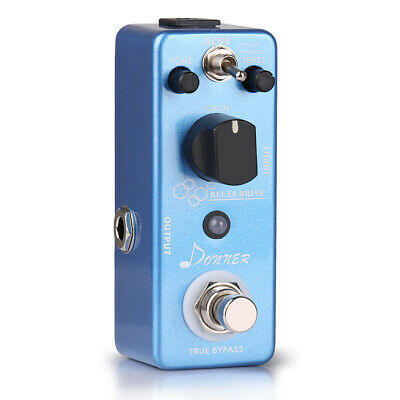 Donner Blues Drive Overdrive Guitar Effect Pedal True Bypass 2 Modes