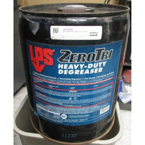 LPS ZEROTRI HEAVY-DUTY DEGREASER 5GAL #03505