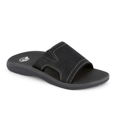 Dockers Mens Landing Casual Comfort Outdoor Slip-on Slide Sandal Shoe