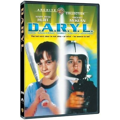 D.A.R.Y.L.  DARYL - DVD - 1985 - Mary Beth Hurt, Michael Mckean, Kathryn Walker for sale  Shipping to India