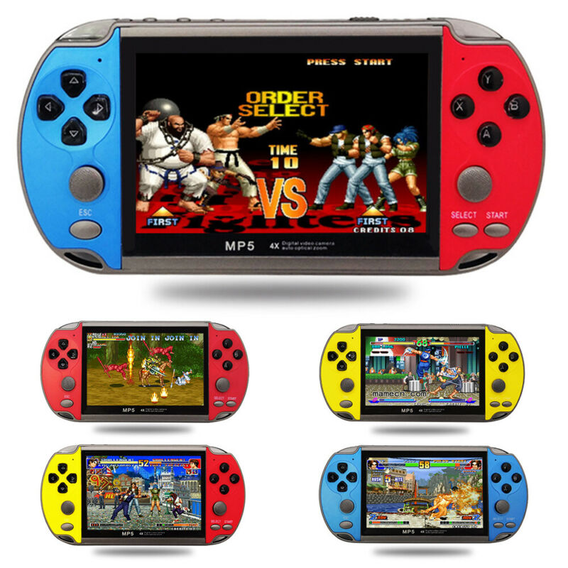 """8GB 4.3"""" 128 Bit Portable Handheld Video Game Console Player"""