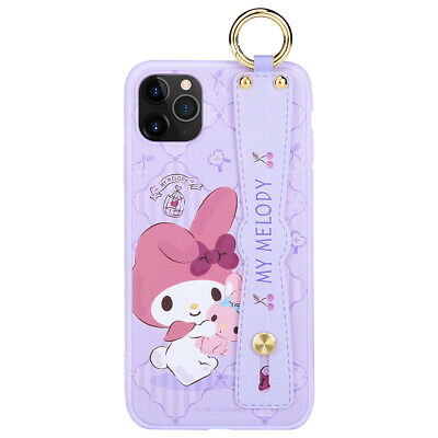 Sanrio Genuine My Melody hand strap Ring Case Cover fr Apple iPhone 11 Pro MAX S