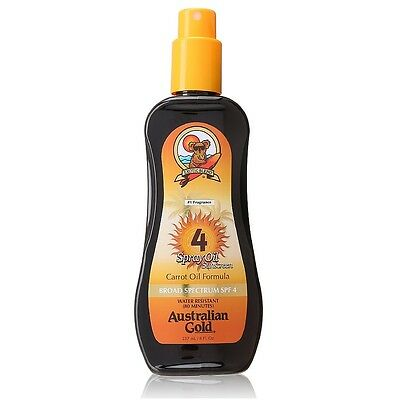 Australian Gold Spf#04 Spray Oil 8oz