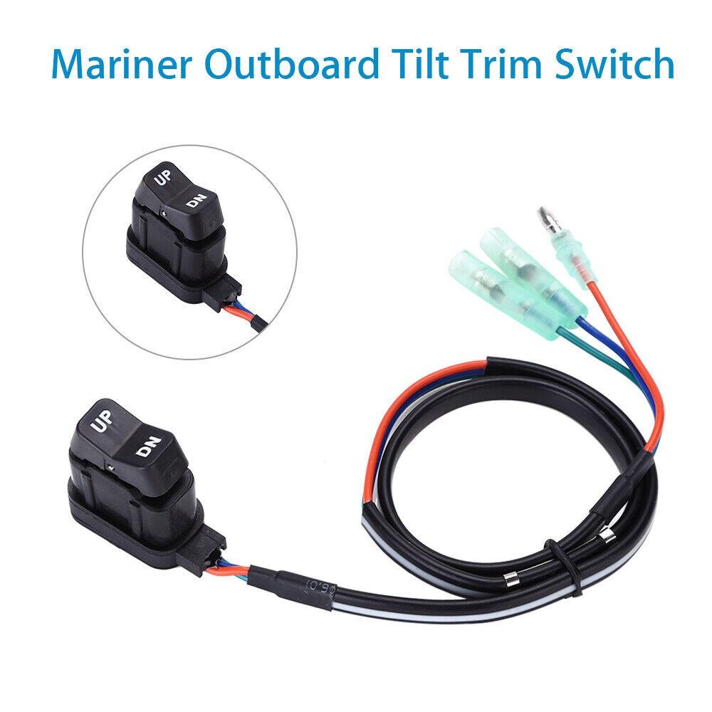 87-18286A2 Remote Control Tilt Trim Switch For Mercury 87-18286A43 87-16991A1