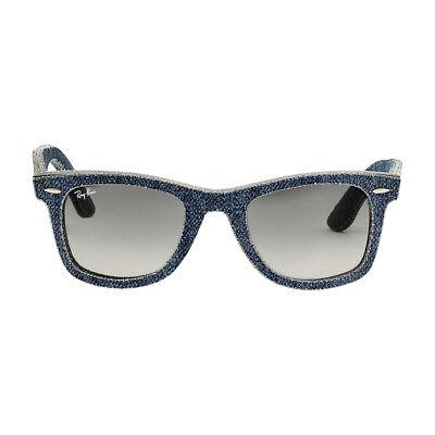Ray-Ban Wayfarer Acetate Frame Grey Gradient Lens Unisex Sunglasses RB2140