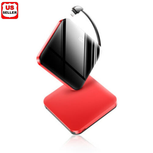 20000mAh UltraThin Dual USB Portable Power Bank External Battery Backup Charger Cell Phone Accessories