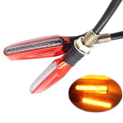Universal 12 LED 12V Motorcycle Motorbike Turn Signal Indicator Light (2 PIECES)