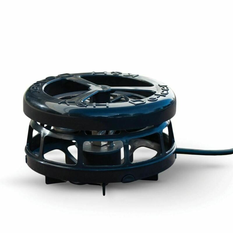 """K&H Pet Products Perfect Climate Deluxe Pond De-Icer 750 watts Black 6"""" x 6"""" x 5"""
