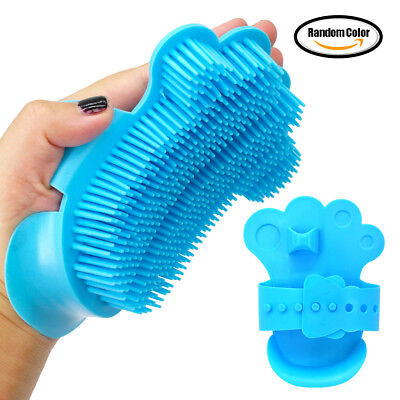 Dog Grooming Brush for Long Hair Shedding with Plastic Pins Pet Cat Fur Remover