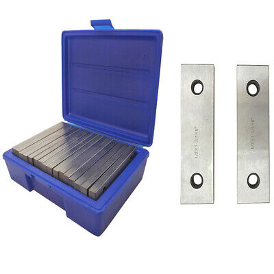 Machinist Thin Parallel Bars 16-piece Tool Set 12 X 6 Blocks-8 Pairs