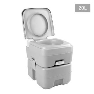 AUS FREE DEL 20L Portable Weisshorn Camping Toilet With Carry Bag