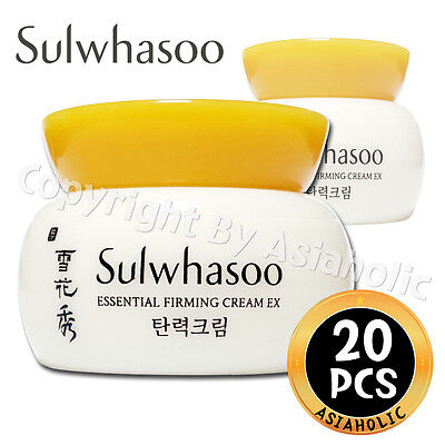 Sulwhasoo Essential Firming Cream EX 5ml x 20pcs (100ml) Sample AMORE PACIFIC
