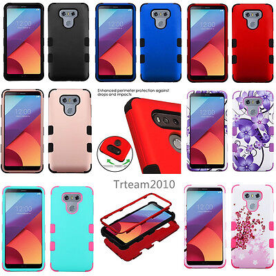 For Lg G6 Rugged Shockproof Image Tuff Protective Phone Cover Case
