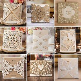 Laser Cut Wedding Invitations - Huge Range of Designs