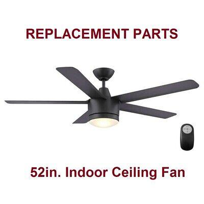 Home Decorators Merwry 52in. LED Indoor Matte Black Ceiling Fan REPLACEMENT PART - Part Decoration