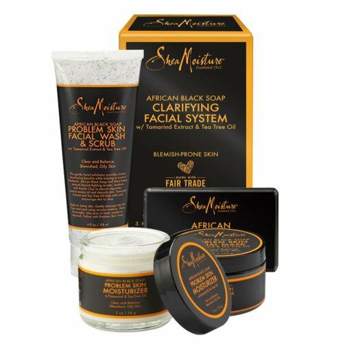 Shea Moisture African Black Soap Acne Care Kit