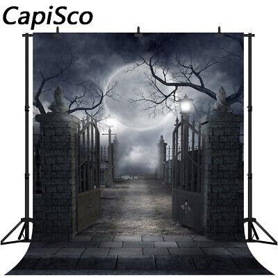 Halloween Dark Night Party Photography Backdrops Smokey Black Foggy Backgrounds](Dark Halloween Backgrounds)