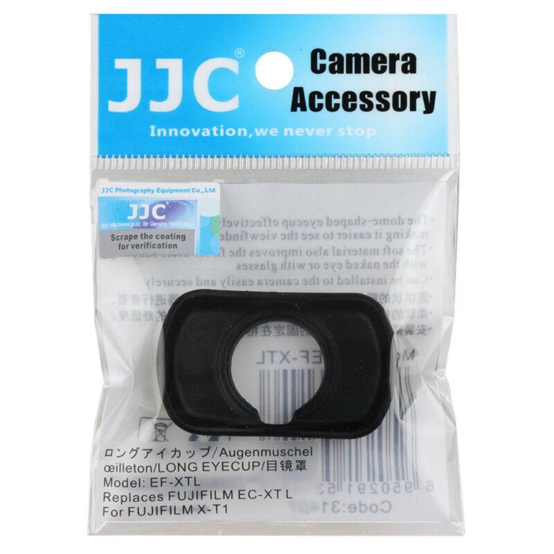 JJC Silica gel Eyecup for FUJIFILM X-T1 X-T2 GFX-50S camera replaces EC-XT L