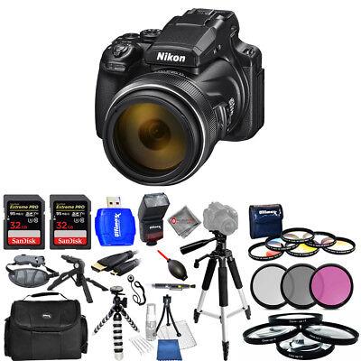 Nikon COOLPIX P1000 16MP 4K UHD Digital Camera #26522 - Mega Bundle  Nikon COOLPIX P1000 Coupons, Savings and Deals   1