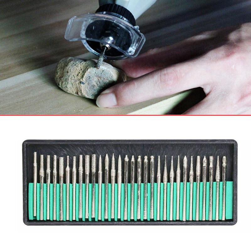 Diamond Grinding Cutting Burr Set For Dremel Rotary Tool die grinder drill bits