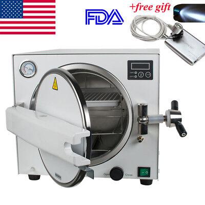 Fdamedical Steam Sterilizer Dental Lab Sterilizer Equipment 18liter Free Gift