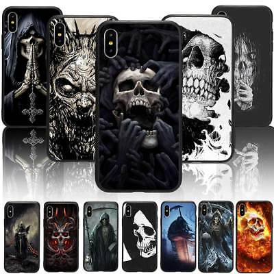 Halloween Print Phone Case Cover For iPhone X 6/7/8 Plus&Samsung Full Protection