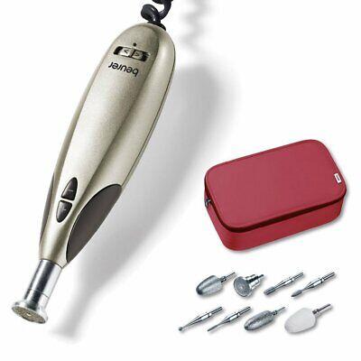 Beurer MP 60 elektrisches Maniküre-/ Pediküre-Set, mit 9 Nagelpflege-Aufsätzen u