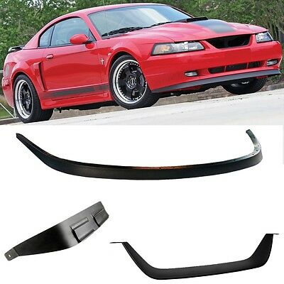 99-04 MUSTANG MACH 1 Chin Spoiler and Grille Delete Bottom Lip (99-04 GT,