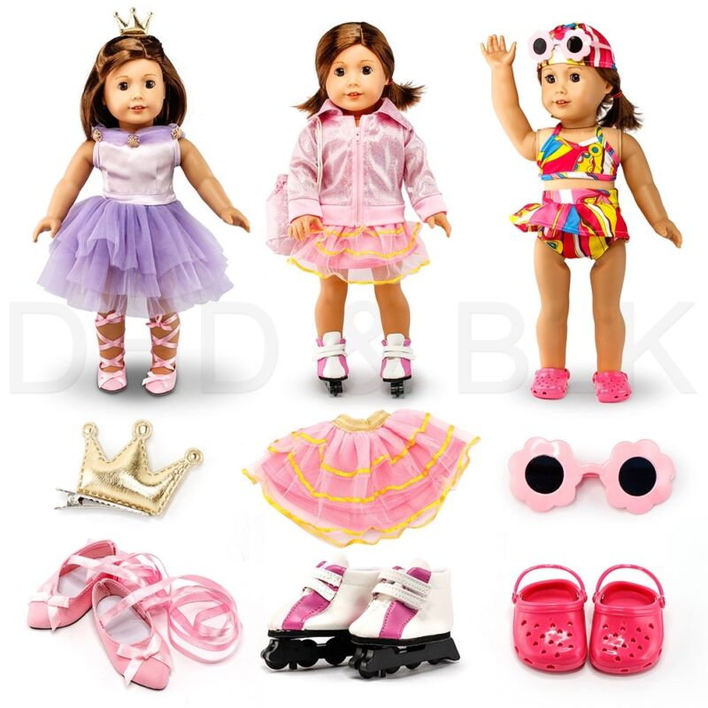 """Fits American Girl 18"""" Sports Outfit18 Inch Doll Clothes Costume"""