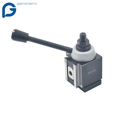 Axa 250-100 Piston Tool Post Up To 12 Cnc Swing Lathe Quick Change Holder